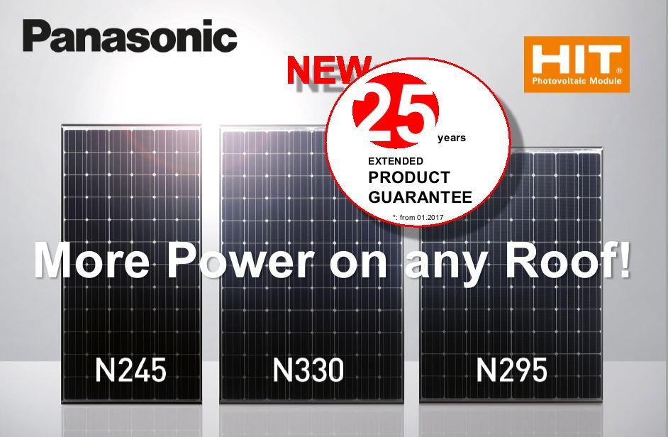 Panasonic HIT zonnepanelen