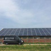 Zonnepanelen Friesland Tjerkgaast Canadian Solar met SolarEdge