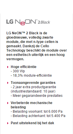 LG Solar Neon Black