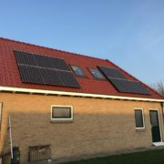 Zonnepanelen Friesland, St. Annaparochie, Panasonic HIT 325 met SolarEdge omvormer en optimizers