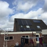 Zonnepanelen Friesland, St. Nyk, Pansonic HIT 325 met SolarEdge omvormer en optimizers