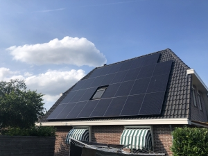 Zonnepanelen Friesland Panasonic met Solar Edge Elahuizen