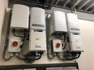 SolarEdge SE55K met synergie technologie