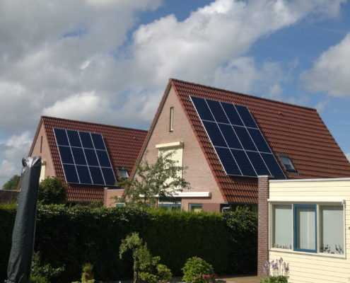 Canadian Solar met SMA omvormers in Balk