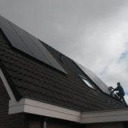 Yingli zonnepanelen met SMA omvormer in Balk