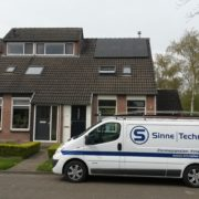 Suntech full black met Solar Edge in Balk