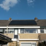 Suntech zonnepanelen zwart in Burgum