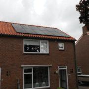 Suntech zonnepanelen met Solar Edge in Balk