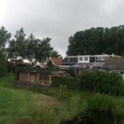 Solar Frontier zonnepanelen met SMA omvormer in Scharsterbrug