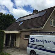 Zonnepanelen Friesland Heerenveen, Suntech zonnepanelen met SMA omvormer