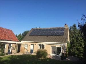 Zonnepanelen Friesland, Oudemirdum, De Fryske Marren