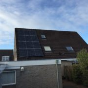 Zonnepanelen Friesland, Stiens, Panasonic HIT 325 met SolarEdge omvormer en optimizers