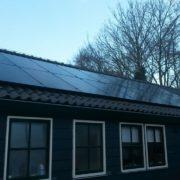 Suntech zonnepaneel met SMA omvormer in Oosterstreek