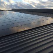 Subsidie zonnepanelen met Zwarte Suntech zonnepanelen met SMA omvormers in Goënga Friesland
