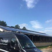Zonnepanelen Friesland, Asbest eraf zonnepanelen erop