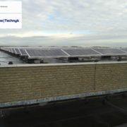 Suntech zonnepanelen met SMA omvormers op Texel